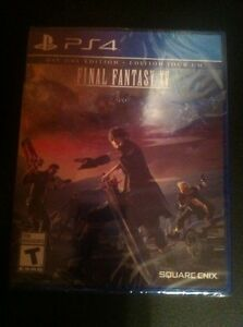 Final Fantasy XV sealed