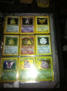 Pokemon cards 38holo/14rare base jungle fossil rocket gym neo