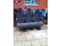 ORIGINAL FORD TRANSIT 3 SEATER WITH BELTS £120