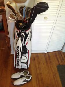 Sac de golf complet à vendre ne vend pas séparé merci