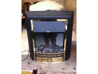 Electric fire : free Glasgow delivery