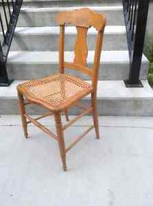 Side Chair with Woven Seat London Ontario image 1