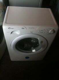CANDY 7KG WASHING MACHINE COMES WITH A FULLY A WORKING STORE WARRANTY