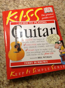 """KISS """"A GUIDE TO PLAYING THE GUITAR"""" NEW! West Island Greater Montréal image 1"""