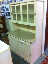 Vintage 1960s kitchen cabinet : free Glasgow delivery