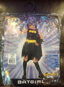 Girls Batgirl costume Size Medium 8-10