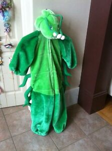 Halloween costume green catapillar