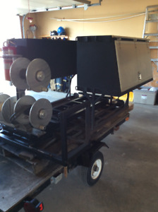 Welding skid unit