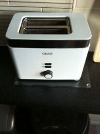 GRAEF TWO SLICE TOASTER WHITE ELECTRIC