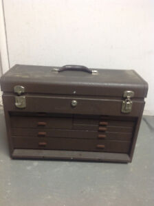 Machinist Tool Box and tools