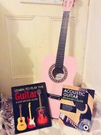 Beginners children's acoustic guitar