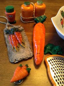 Mini-collection thème de carottes