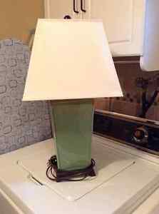 Ceramic table accent lamp
