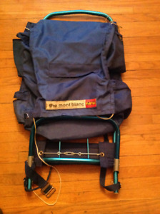 """Vintage Camping Pack- """"the Montblanc"""" model"""