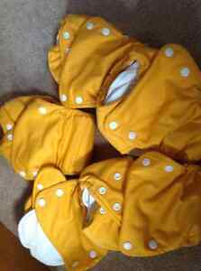 Dream-Eze organic all in one cloth diapers Kitchener / Waterloo Kitchener Area image 1