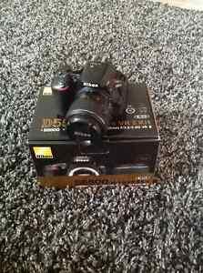 Nikon D5500 with 18-55mm VR II kit lens