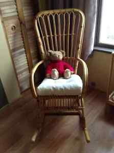 CANE BACK ROCKING CHAIR London Ontario image 1