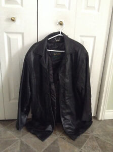 Lined  leather jacket, Danier, medium, in great condition.