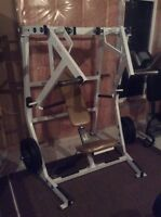 HAMMER STRENGTH ISO Decline Press Commercial Gym Equipment