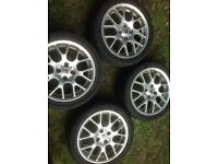 4x MG Rover alloys for 25, ZR, 45 or ZS