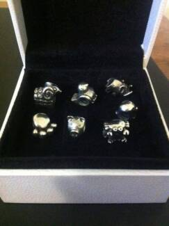 Authentic Pandora Beads - Set of 7 animals Wavell Heights Brisbane North East Preview