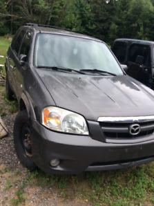 $1,000.00/BO 4- 2005 Mazda SUV In Muskoka Easy Great Fixer Upper