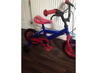 12 inch boys bike in a good and clean condition.