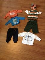 Boys fall/winter clothes
