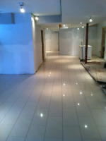 Flooring and tiling