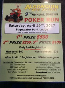 ATV Poker Run