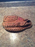 Right hand softball glove