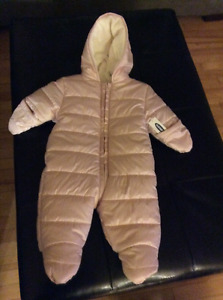 NEW Infant Hooded Snowsuit