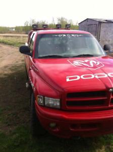 Project:  Dodge Sport 5.9 gas 4x4 half ton rebuilt or trade