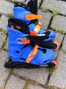 Roller blades child size 11/12 London Ontario image 1
