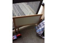 Toddler bed with mattress £35