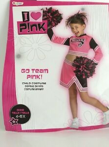 Girl's Cheerleader Costume