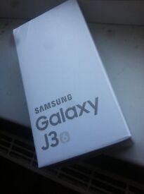 Samsung galaxy j3 2016 brand new sealed with warranty