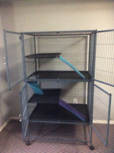 Ferret nation double cage