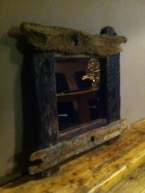Driftwood 'Creel' Mirrors