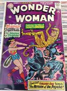 Wonder Woman #160 -VG - 1st Silver Age Cheetah - Suicide Squad