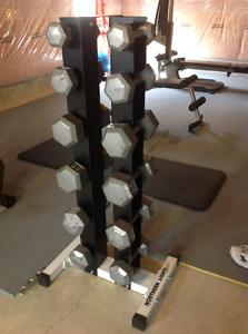 Weights with Rack