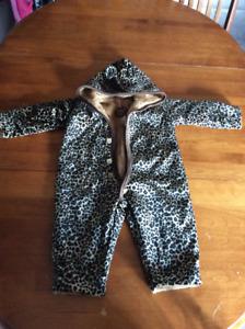 Size 18 months winter onesie/snowsuit