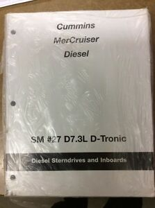 SHOP MANUAL CUMMINS MERCRUISER DIESEL