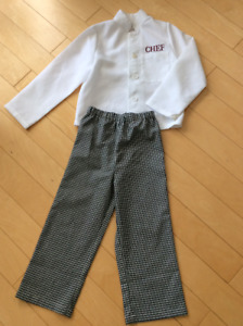 Chef outfit size 4