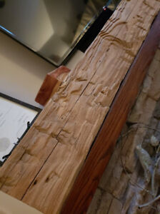 6 ft Hand Hewn Fir Beam (2 other sizes available)