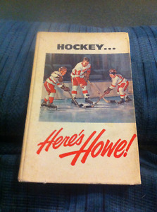 Hockey...Here's Howe! 1963 Signed!!!!