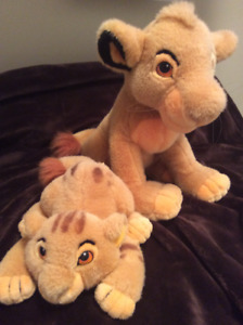 Disney Lion King plush toys