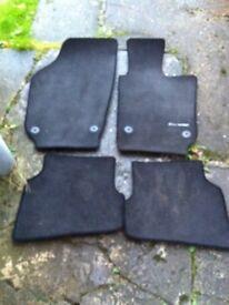 Vw polo mk6/7 floor mats (genuine)