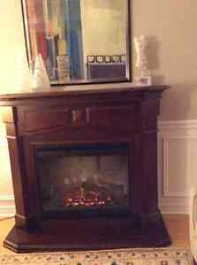 Large Dimplex Electric Fireplace