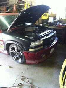 1994 s10 extream with new small block 355